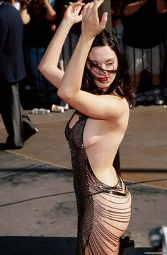 Rose at 1998 MTV music Awards - rose-mcgowan Photo Rose Mcgowan, Girl Crushes, Brave, Beautiful People, Beautiful Women, Pretty People, Star Wars, See Through Dress, Lingerie