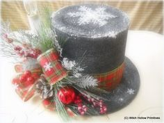 Lighted Christmas Hats - Best 25 Top Hat Centerpieces Ideas on Pinterest Coffee Can