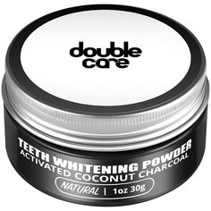 $10.99, Activated Charcoal Teeth Whitening Powder, Vegan and organic formula!   #charcoalteethwhitener #charcoalteethwhitening #doublecare
