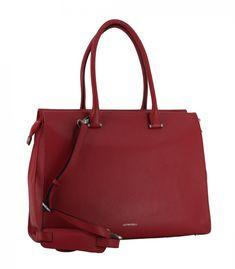 Businesstasche GiGi Fratelli rot Schultergurt Leder Bags, Fashion, Laptop Tote, Leather Cord, Leather Bag, Hook And Loop Fastener, Red, Nice Asses, Handbags