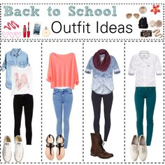 These are some really cute back to school outfits
