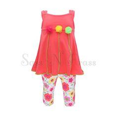 Little Flower Legging Set  http://www.sassnfrass.net#Tinasea