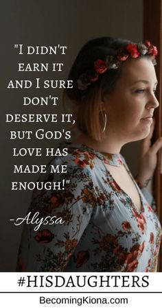Alyssa's story is all about finding sufficiency in Christ, something we all have to learn to find! Read more...