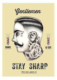 Barbershop Print