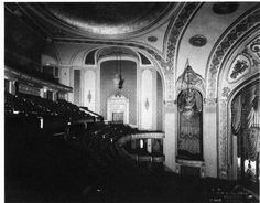An old inside shot, of the said to be haunted Orpheum Theater located in Memphis,Tenn.