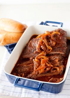 """<strong>Get the <a href=""""http://bakedbree.com/root-beer-brisket"""">Root Beer Brisket recipe </a>from Baked Bree</strong>"""
