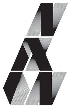 Nixon by Alex Trochut, via Behance