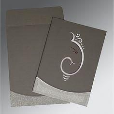 Hindu Wedding Cards - W-2216 #WeddingInvitations #hinduweddinginvitations