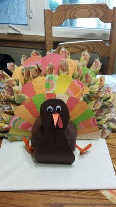 Silverware turkey