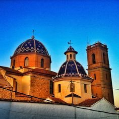 the church in #Altea #enjoyaltea by @ramonkrogdahl