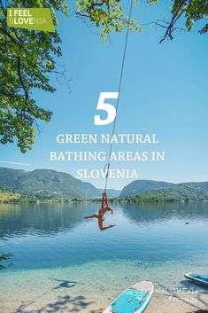 Slovenia travel tips - take a swim at green natural bathing areas! If you travel to Slovenia during summertime, take time to visit one of the natural bathing areas across the country to refresh yourself. Summer in Europe - hidden destinations Europe Travel Tips, Travel Guides, Travel Destinations, Slovenia Travel, Bohinj, Julian Alps, Water Activities, Summer Activities, Family Activities