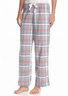New Directions Intimates  Rugby Plaid Flannel Pant