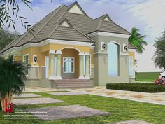 1 new message House Plans Mansion, Sims House Plans, 4 Bedroom House Plans, Luxury House Plans, Duplex Design, Bungalow House Design, Classic House Design, Small House Design, House Paint Exterior