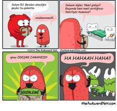 The Awkward Yeti comics. Funny humor and oddities. Have a laugh and check out… Akward Yeti, The Awkward Yeti, Dental Humor, Medical Humor, Cute Comics, Funny Comics, Funny Cartoons, Funny Cute, The Funny