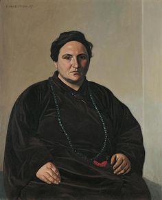 Félix Valloton: Gertrude Stein (1907)