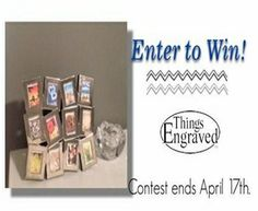 ThingsEngraved Picture Frame Twitter Giveaway