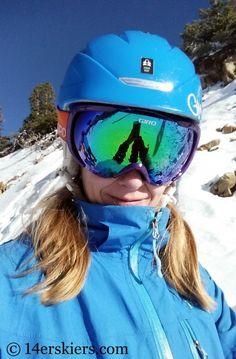 Skiing at Loveland.