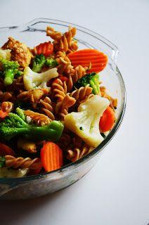 Fit jest Git: Zapiekanka makaronowa z kurczakiem i warzywami