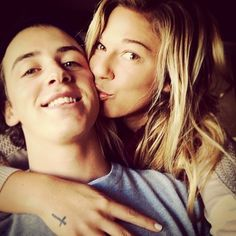 Mark McMorris and Coco Ho -- Cuttest couple Bold And The Beautiful, Beautiful People, Mark Mcmorris, Coco Ho, Stuck In Love, Winner Winner Chicken Dinner, Relationship Goals, Relationships, Lets Celebrate