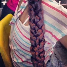 Three braided braid