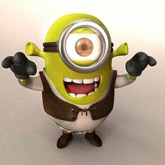Minios Shrek!!!