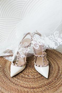 Glam wedding shoes -