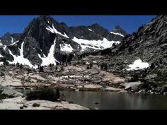 Lake Sabrina to Moonlight Falls: Unexpected Isolation | CaliTrails