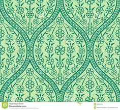 green floral pattern (searchlock)