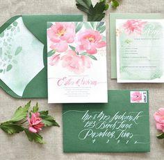 Lindas invitaciones de boda!