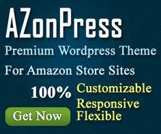 AZonPress is an exclusive Wordpress theme for Amazon store sites.