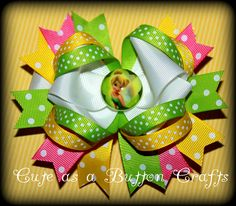 Over the top  Tinkerbell Disney inspired by tootoocute4you on Etsy, $7.50