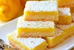 Вкусное пирожное «Лимонные дольки»...