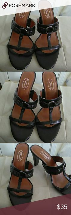 Talbots  leather Sandals high heels Leather high heel sandals, very good pre-loved condition. Very sexy. Size 8B Shoes Heels