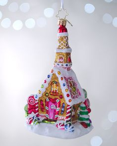 """Sweet Celebration"" Christmas Ornament by Christopher Radko at Neiman Marcus."