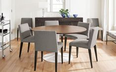 How to Measure Your Dining Space - Ideas & Advice - Room & Board