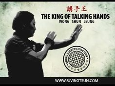 Wong Shun Leung: The King of Talking Hands 講手王   Pinned by Rhodes Wing Chun Kung Fu   Visit us: http://rhodeswingchunkungfu.weebly.com