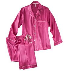 Gilligan & O'Malley® Women's Satin Pajama Set - Assorted Colors - never had satin ones before...so they'd either be awesome or irritating if I had any dry skin