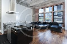 Furnished flat at wilson lofts in Montréal. | Simplissimmo