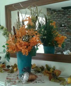 Love decorating for fall.