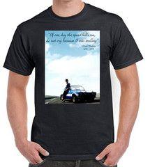 1 Paul walker rip T-shirt - TeeeShop