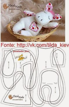 molde bichinho de feltro Source by Our Reader Score[Total: 0 Average: Related photos:free felt ornament patterns Fabric Animals, Felt Animals, Sewing For Kids, Baby Sewing, Sewing Crafts, Sewing Projects, Fabric Toys, Sewing Dolls, Stuffed Animal Patterns