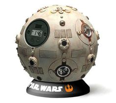 Jedi Training Remote Alarm Clock #starwars