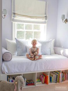 Baby Boy Room Decor Ideas Reading Nooks 51 Ideas For 2019 Baby Boy Decorations, Baby Boy Room Decor, Baby Boy Rooms, Room Baby, Nursery Room, Baby Girls, Baby Shelves, Big Girl Rooms, Kid Spaces