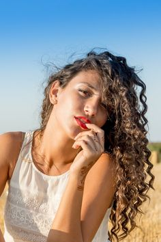 New free photo from Pexels: https://www.pexels.com/photo/portrait-girl-curly-hair-hair-26380 #fashion #woman #girl