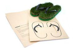 KUSA Flip Flops サンダル 芝生サンダル 人工芝 裸足用 素足用 ビーチサンダル Mサイズ 正規品