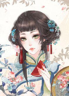 """饼子会飞 (Bingzi Hui Fei), """"甄嬛传"""" (""""Zhen Huan Zhuan"""")"""