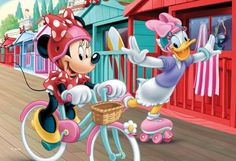 Minnie and Daisy (96 pieces)