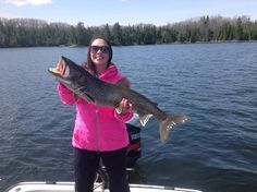 """Spring trout caught in Long Bay.  Photo submitted by Crissy Godwin for the NOSFC's """"Best Fishing Photo"""" Contest."""