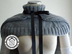 Hooded Mozzetta Knitting PATTERN Silmarwen Surion PDF