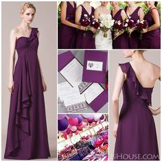 Please fill your wedding with romantic grape!